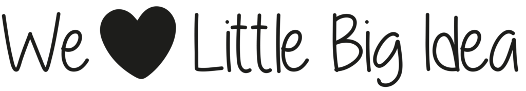 Logo We Love Little Big Idea