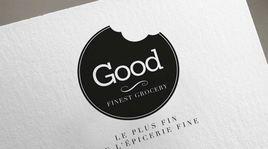 Epicerie Good identité visuelle Little Big Idea