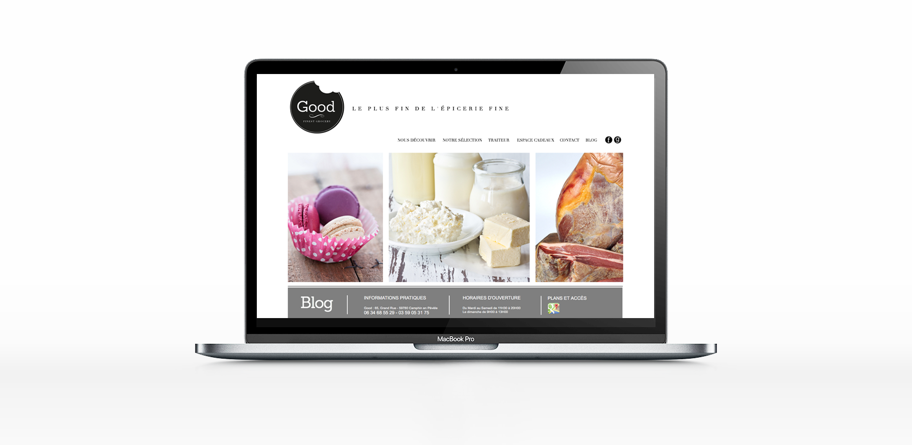 Epicerie Good Webdesign Little Big Idea