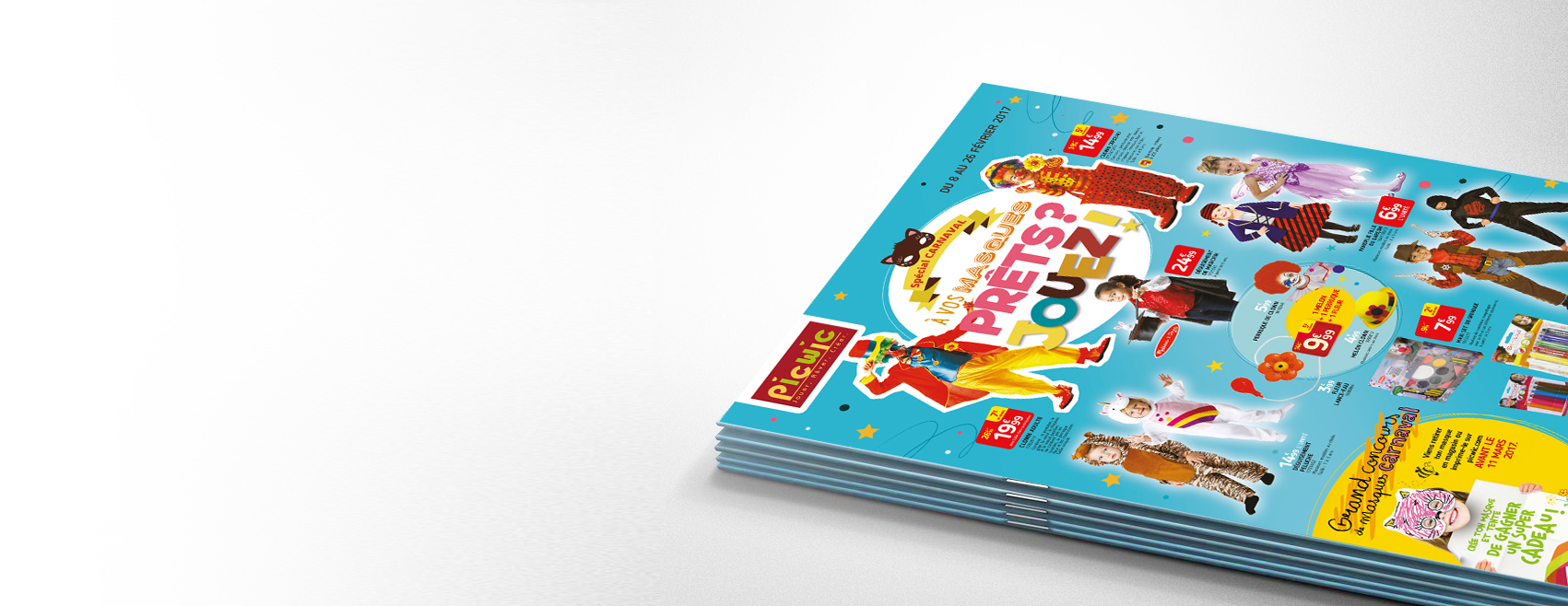 Picwic Brochure couverture Carnaval Little Big Idea