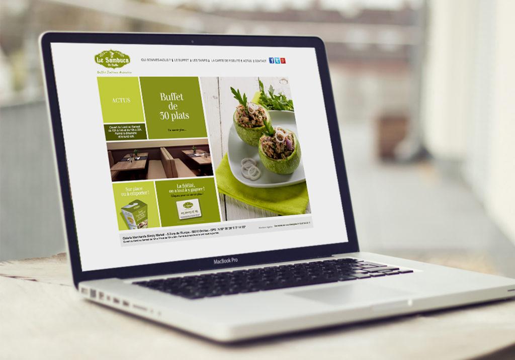 Le Sambuca Web Design Little Big Idea