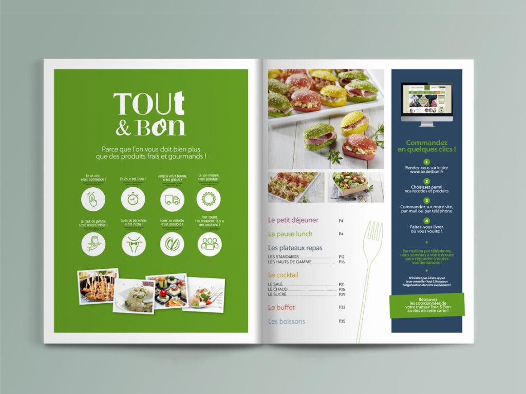 Tout et Bon intérieur menu Little Big Idea