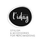 Logo noir L'Iday Merch Little Big Idea agence de communication