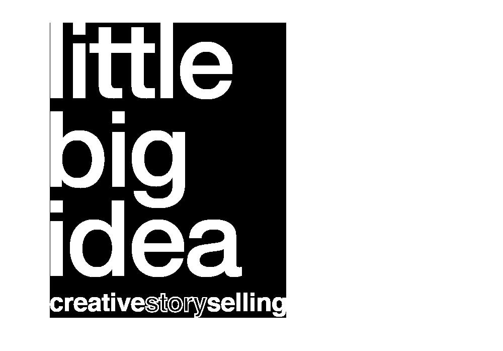 logo Lille Big Idea blanc détouré Little Big Idea Agence de Communication Lilloise