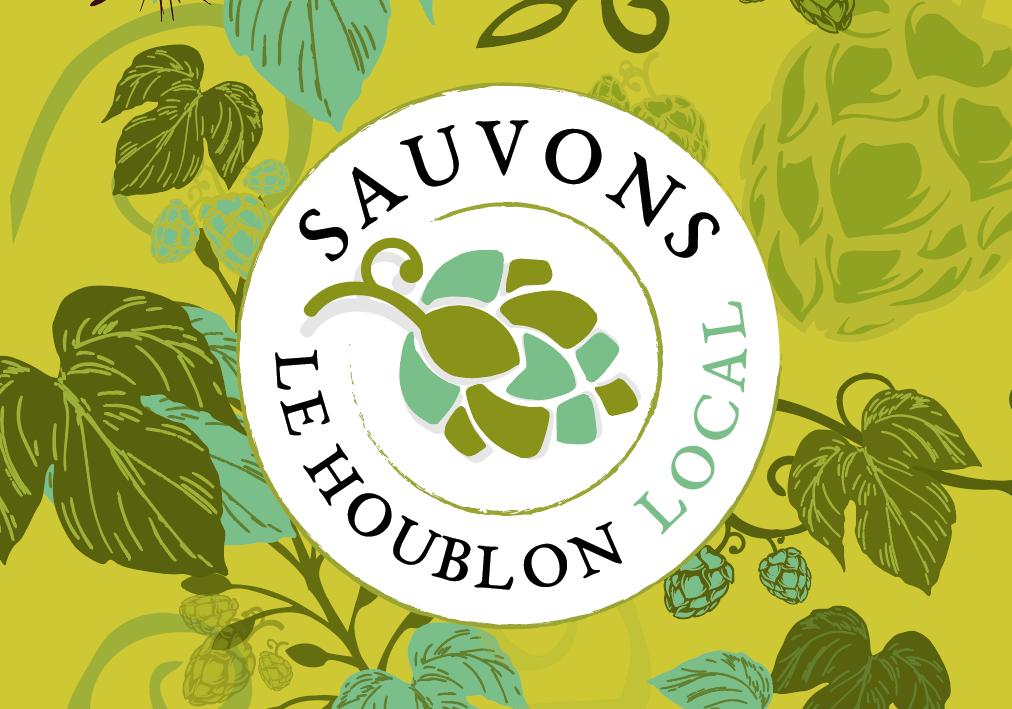 Logo Sauvons le Houblon Local Little Big Idea Agence de Communication Lilloise
