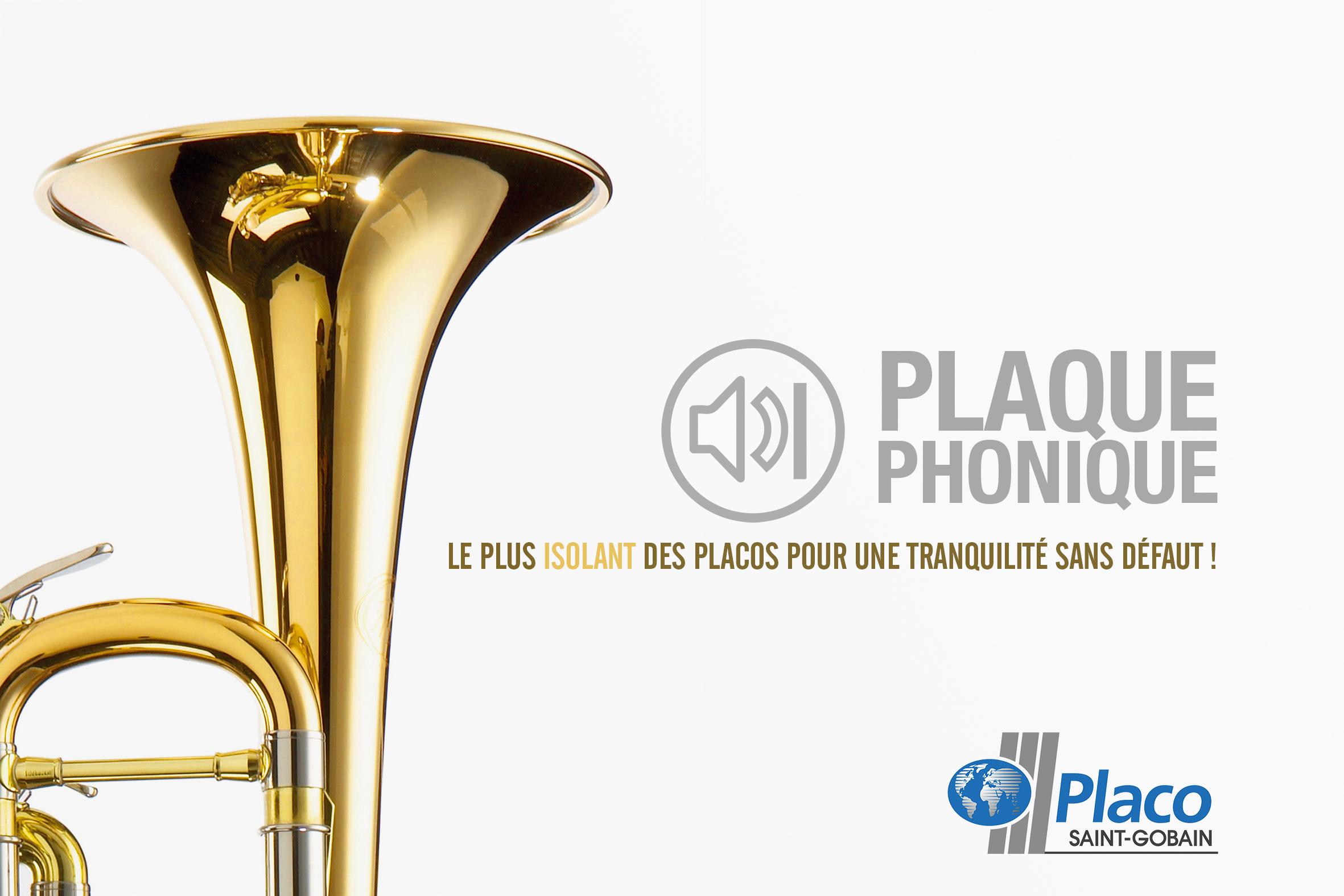Affiche Placo Saint Gobain Little Big Idea Agence de Communication Lilloise
