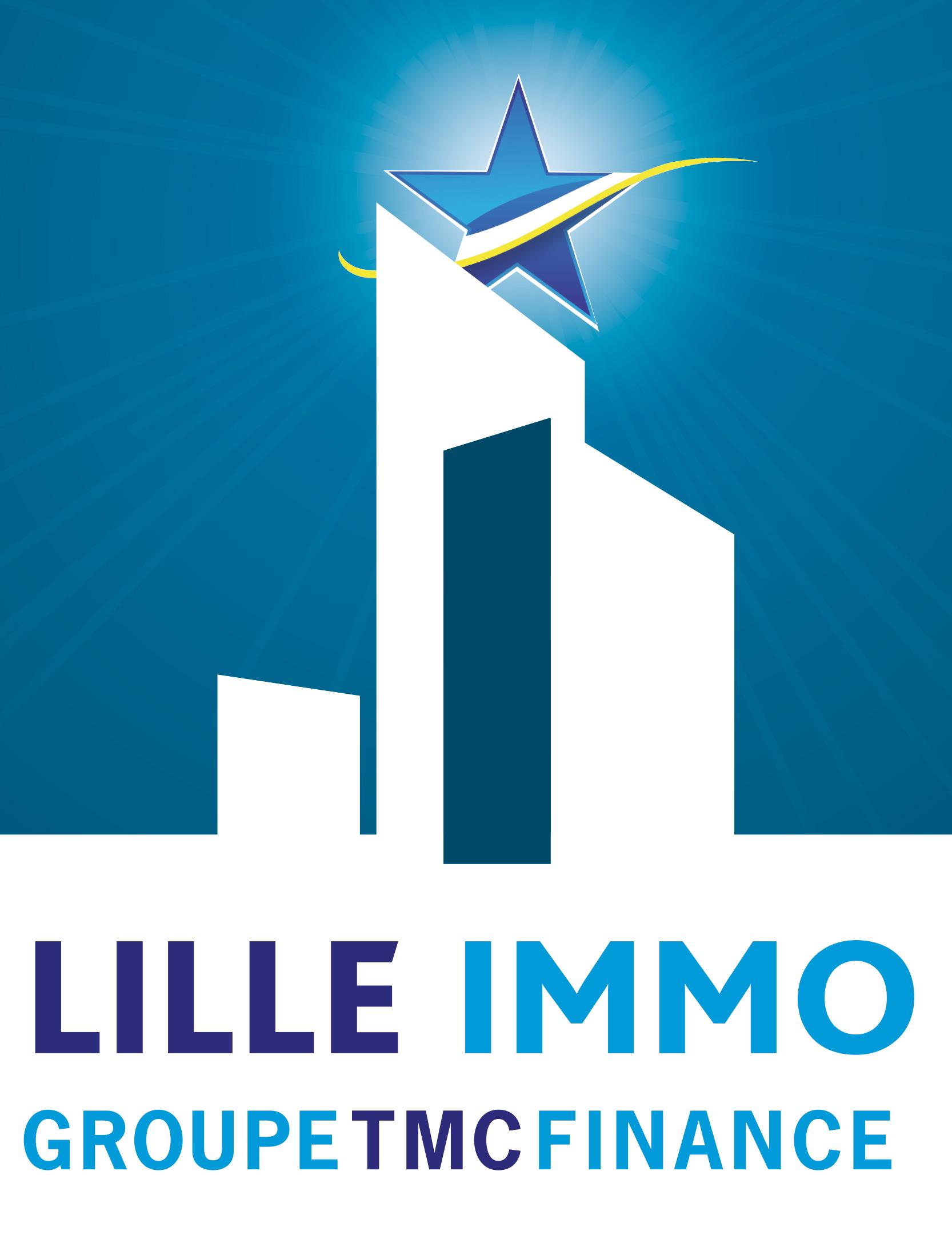 Logo Lille Immo Little Big Idea Agence de Communication Lilloise